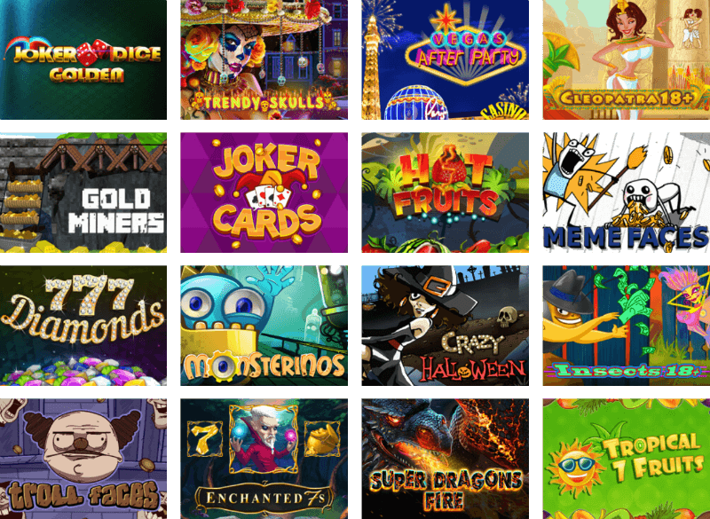 MrSlotty games