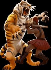 Tiger's Glory hero