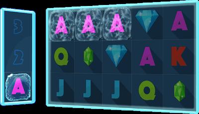 Icy Gems storage symbol