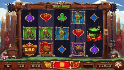 Trolls Bridge slot