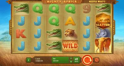 Mighty Africa: 4096 ways slot
