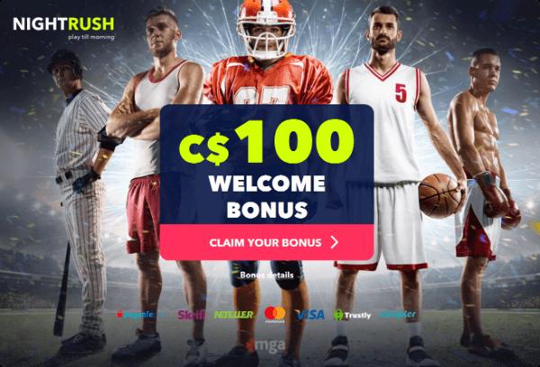 Night Rush Sports Bonus
