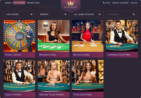 Royal Slots Casino Live
