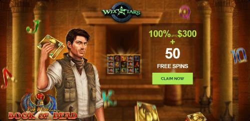 Wixstars Casino Promotion