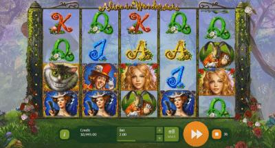 Alice in Wonderslots slot