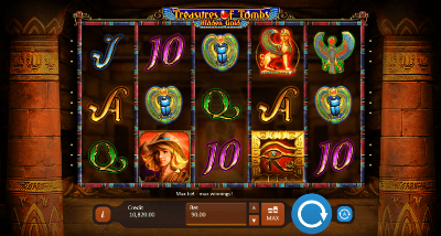Treasures of Tombs Hidden Gold slot