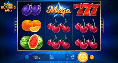 Mega Burning Wins: 27 ways slot