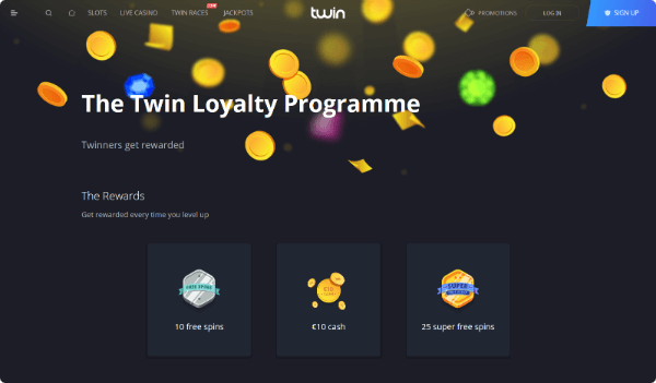 Twin Casino Loyalty Programme