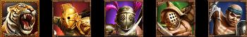Game of Gladiators symbols