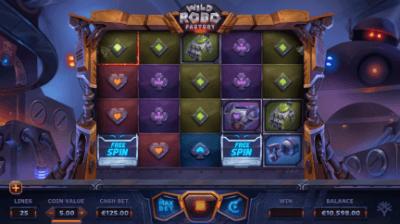 Wild Robo Factory slot