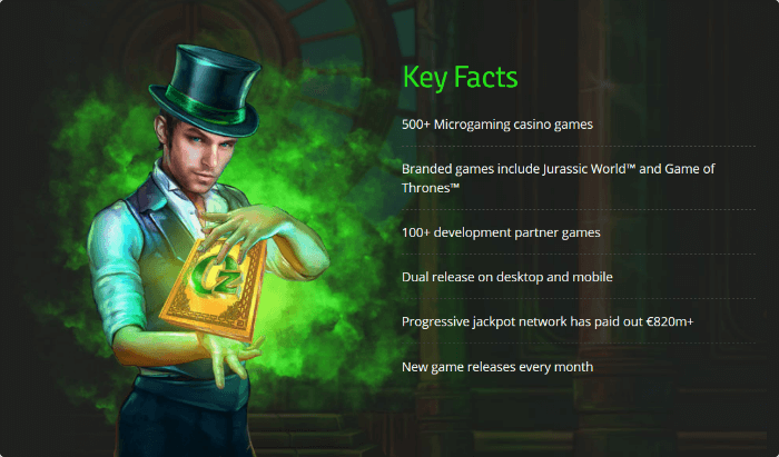 Microgaming Facts