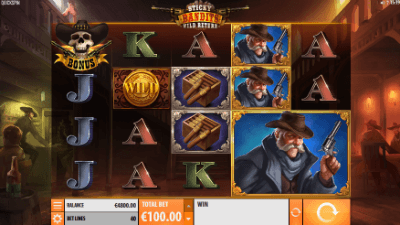 Sticky Bandits: Wild Return slot