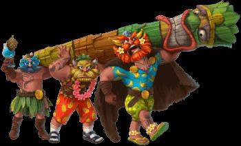 Tiki Vikings heroes