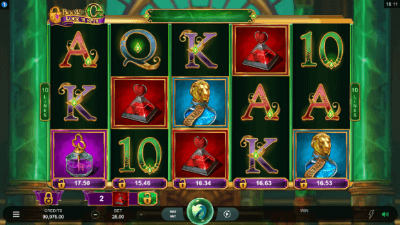 Book of Oz Lock 'N Spin slot