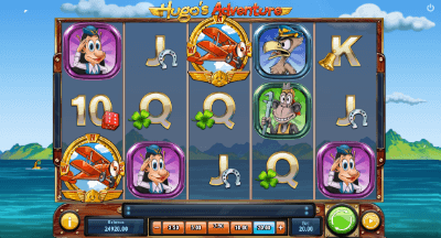 Hugo's Adventure slot
