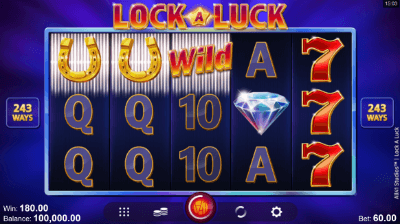 Lock a Luck slot