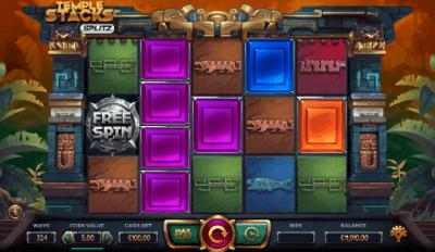 Temple Stacks: Splitz slot