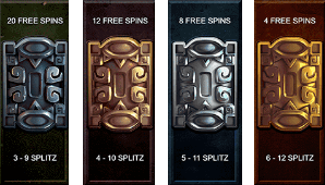Temple Stacks: Splitz free spins