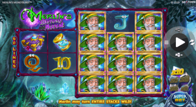 Merlin's Money Burst slot