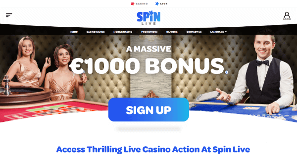 Spin Casino Live