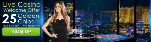 Casino Las Vegas Golden Chips