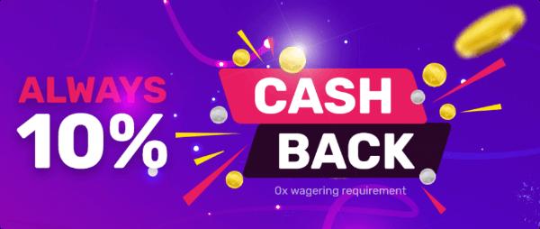 Hyper Casino Cash Back