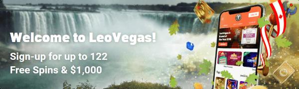 LeoVegas Casino New Offer