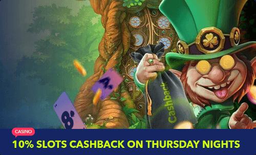 NightRush Casino Cash Back